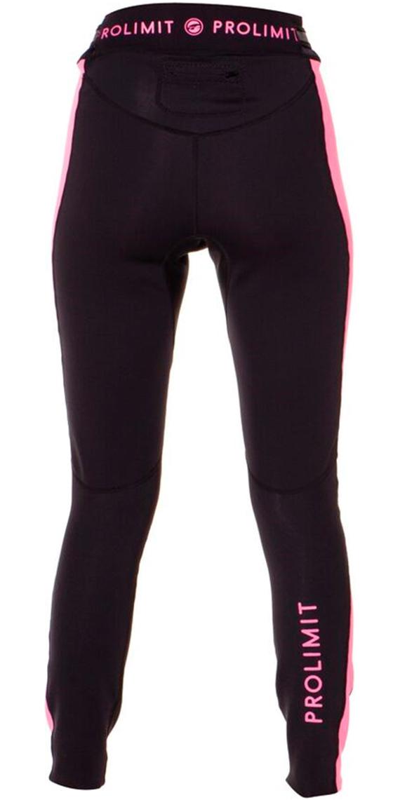 Prolimit Womens SUP 1mm Airmax Neoprene Trousers Black   Pink 64750 ... 58dfdb399