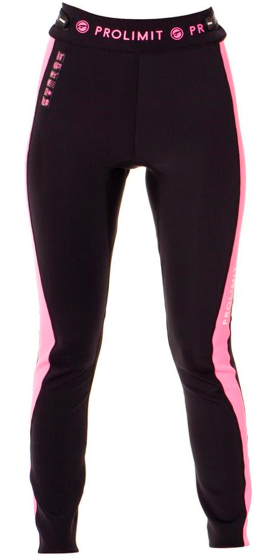 Prolimit Womens SUP 1mm Airmax Neoprene Trousers Black / Pink 64750