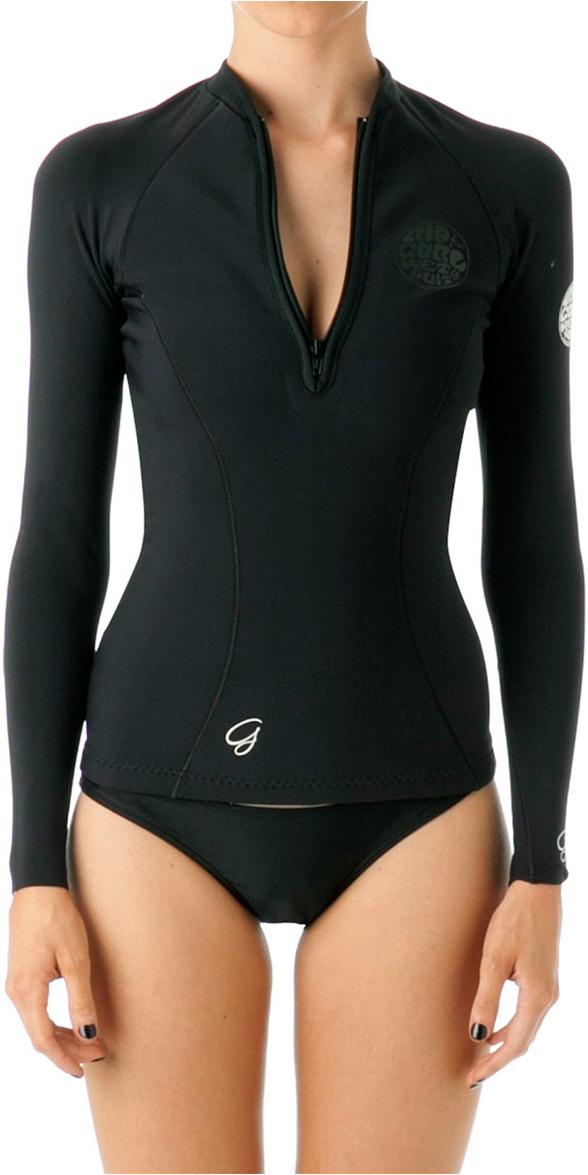 Rip curl ladies mm g bomb long sleeve neo jacket black