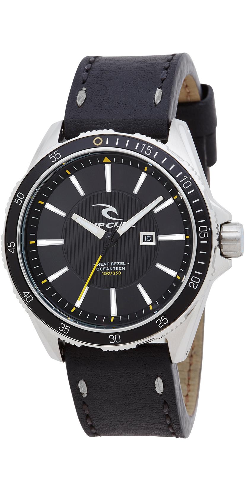 2017 rip curl diver 100 leather strap watch black a2893 a2893 2017 rip curl diver 100 leather strap watch black a2893