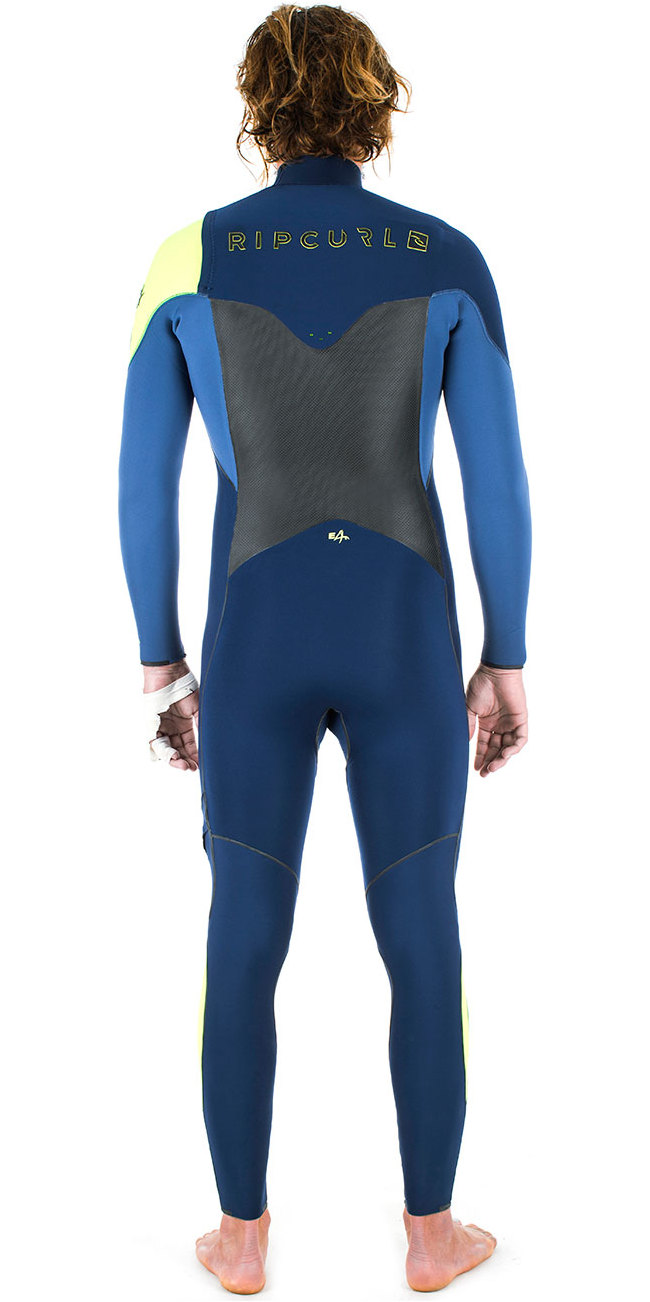 Rip Curl E-Bomb 5/4/3mm GBS Chest Zip Wetsuit NAVY WSM5CE