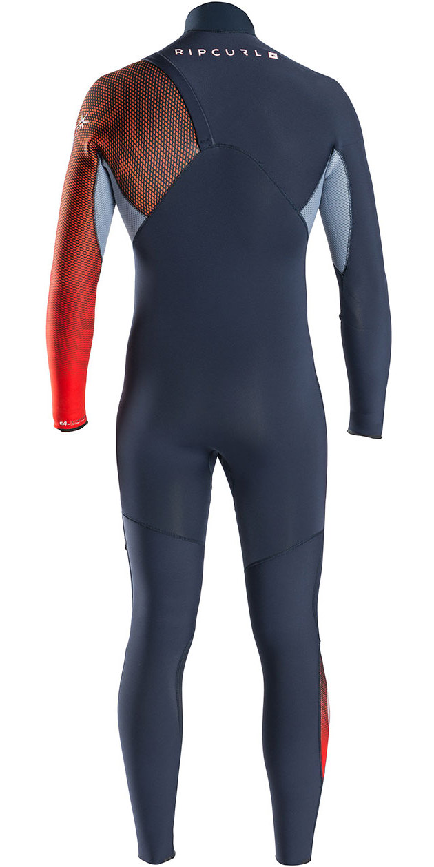 Rip Curl E-Bomb Pro 3/2mm GBS Zip Free Wetsuit RED WSM6RE