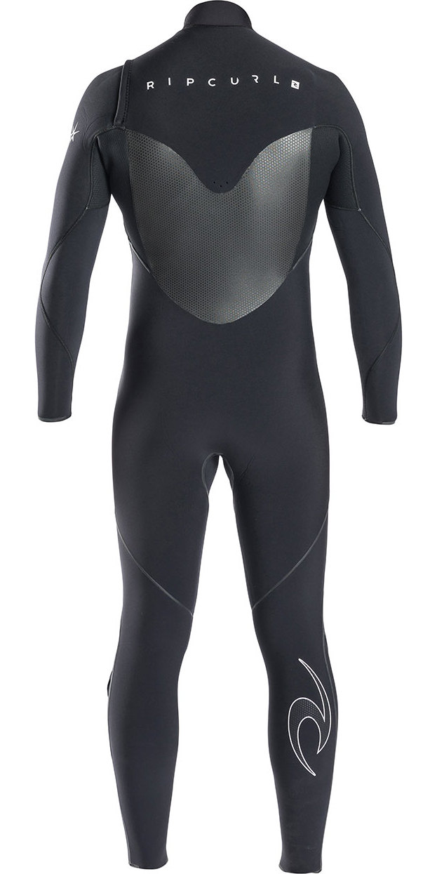 Rip Curl Flashbomb 5/3mm Chest Zip Wetsuit BLACK WSU6DF
