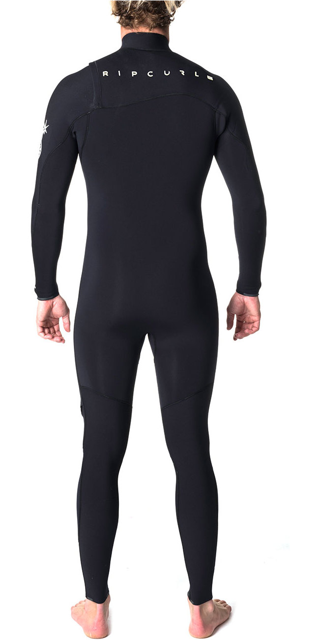 Rip Curl Flashbomb 5/3mm Zip Free Wetsuit BLACK WSM6UF