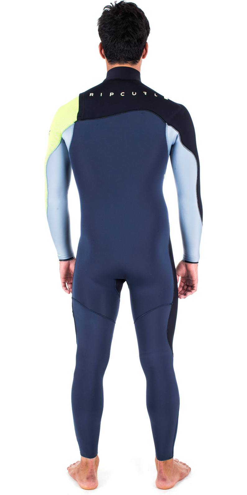 Rip Curl Flashbomb 5/3mm Zip Free Wetsuit FLURO LEMON WSM6UF
