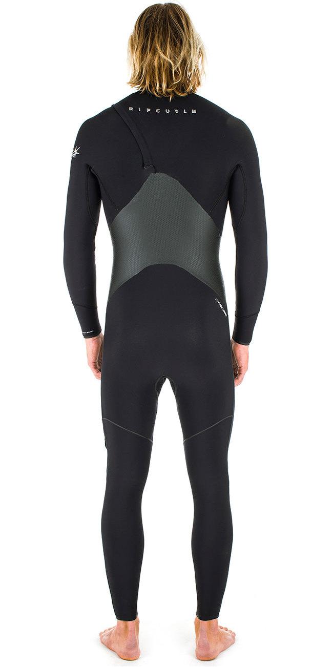 Rip Curl Flashbomb Plus 5/3mm GBS Zip Free Wetsuit BLACK WSM6VF