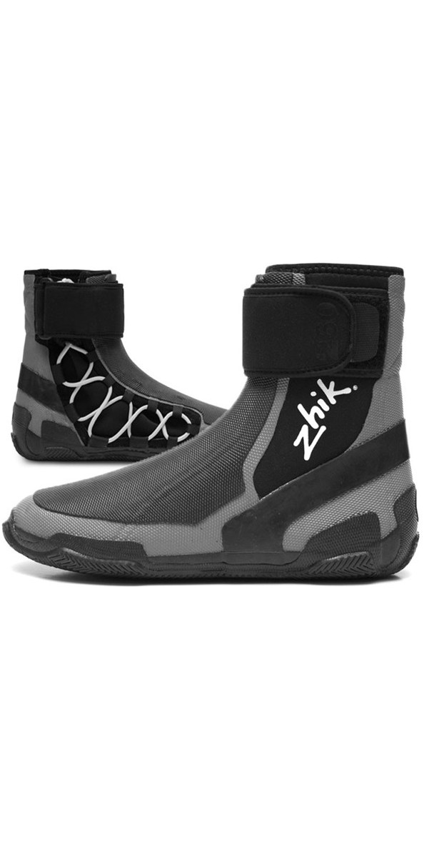 2018 ZHIK SKIFF BOOT GREY / BLACK BOOT260