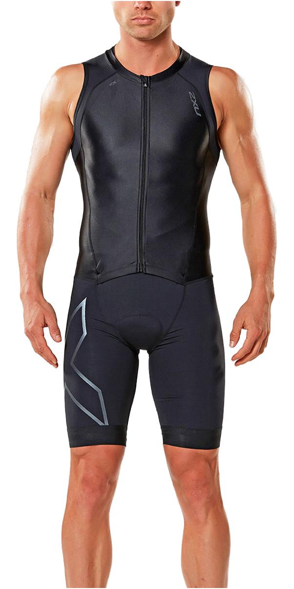 2017 2xu compression zip trisuit black mt4443d mt4443d