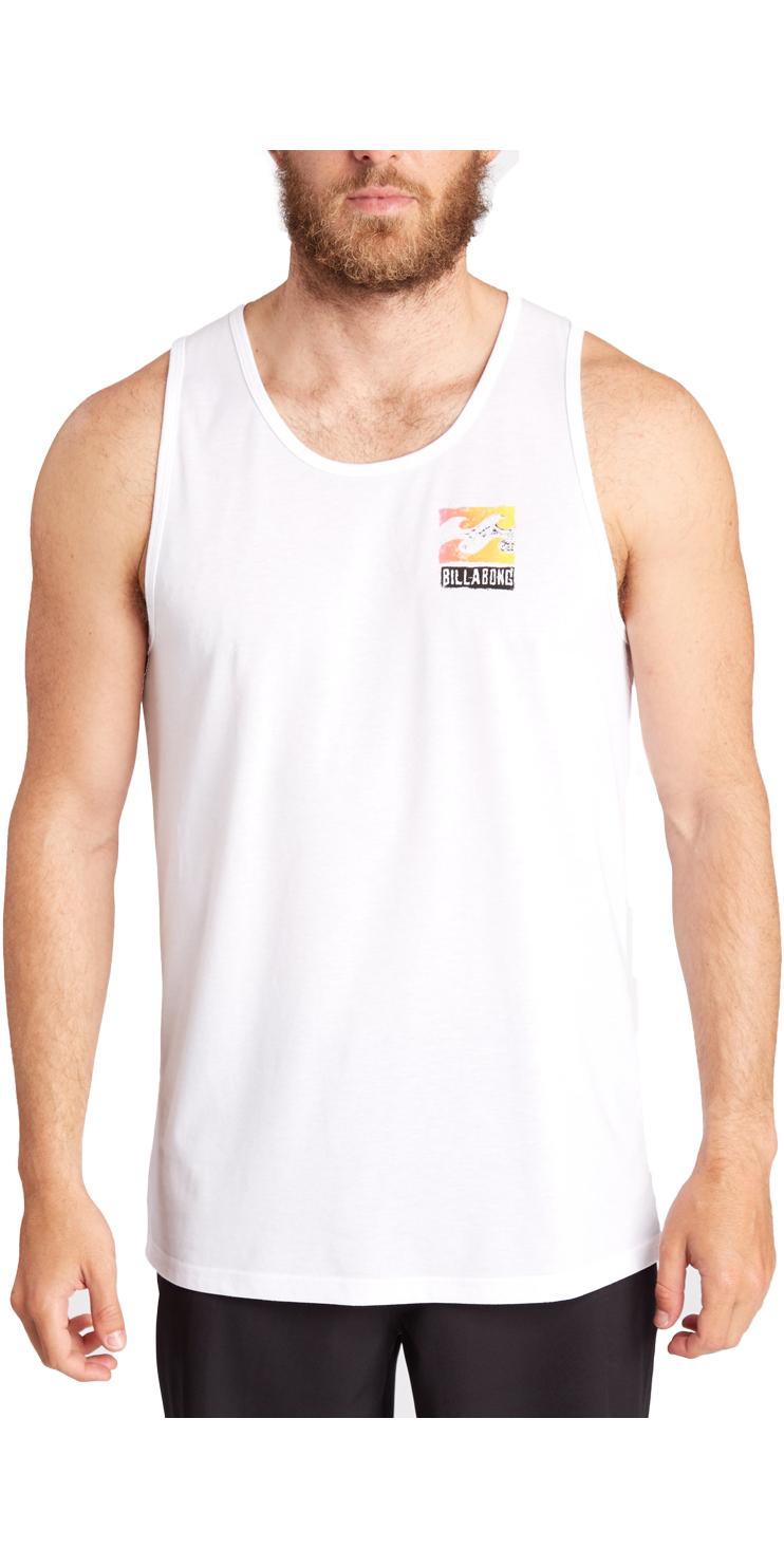 c7622bf143a6f5 Billabong Singlet Surf Tee White C4eq03 - T-shirts - Mens - Fashion - by  Billabong - Billabong
