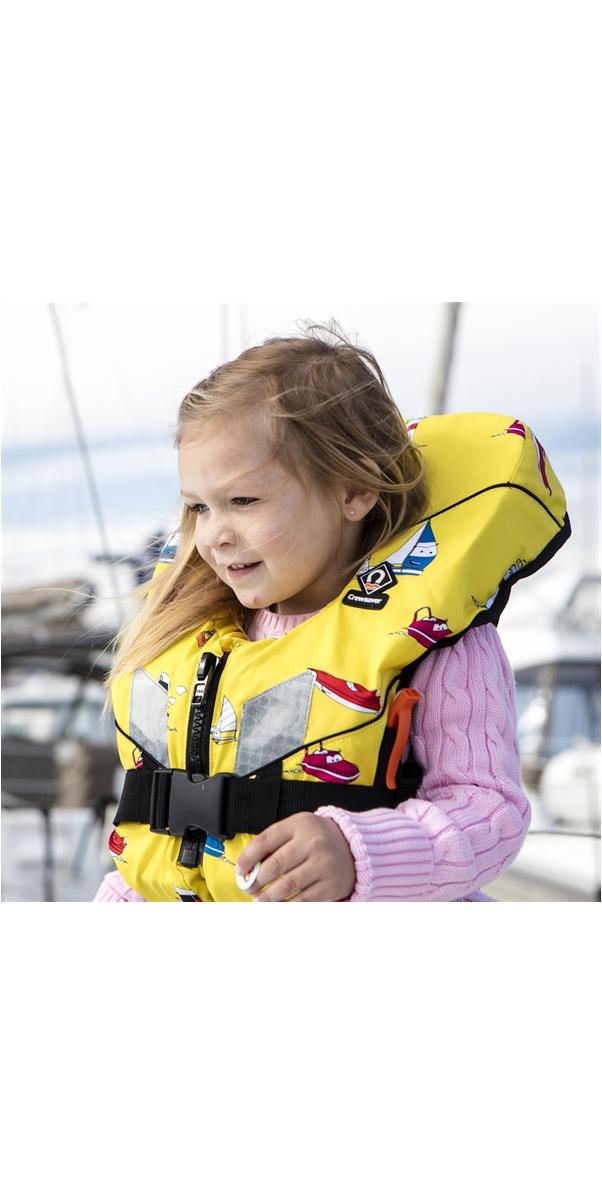 2019 Crewsaver Euro 100N Lifejacket YELLOW - BABY & CHILD 10170