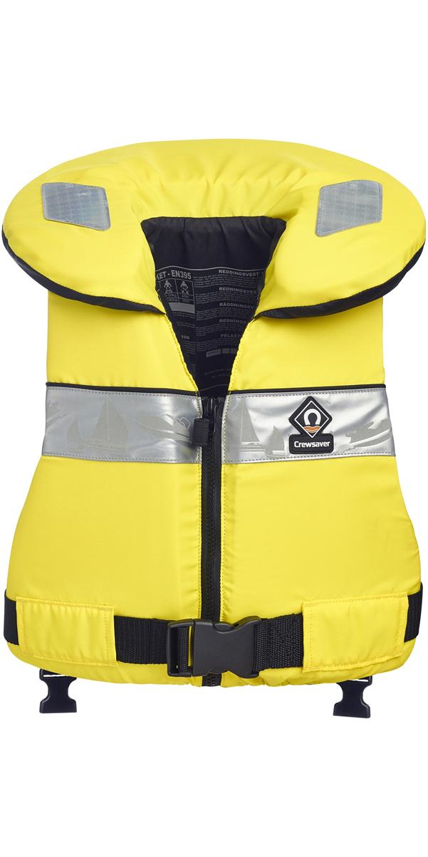 2018 Crewsaver Euro 100N Lifejacket YELLOW - LARGE CHILD & JUNIOR 10171