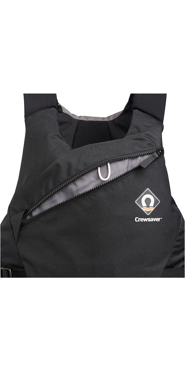 2019 Crewsaver Junior Pro 50N Side Zip Buoyancy Aid Black / Grey 2621J