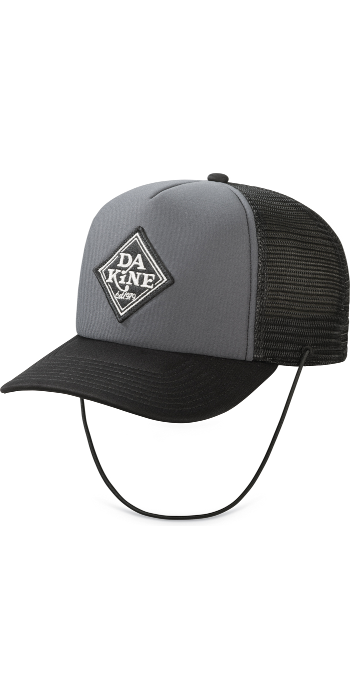 2018 Dakine Lock Down Trucker Cap BLACK / CHARCOAL 10001269