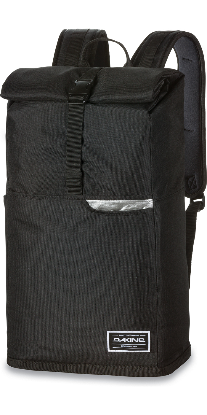 2017 Dakine Section Roll Top Wet Dry 28L Backpack Black 10001253 ...