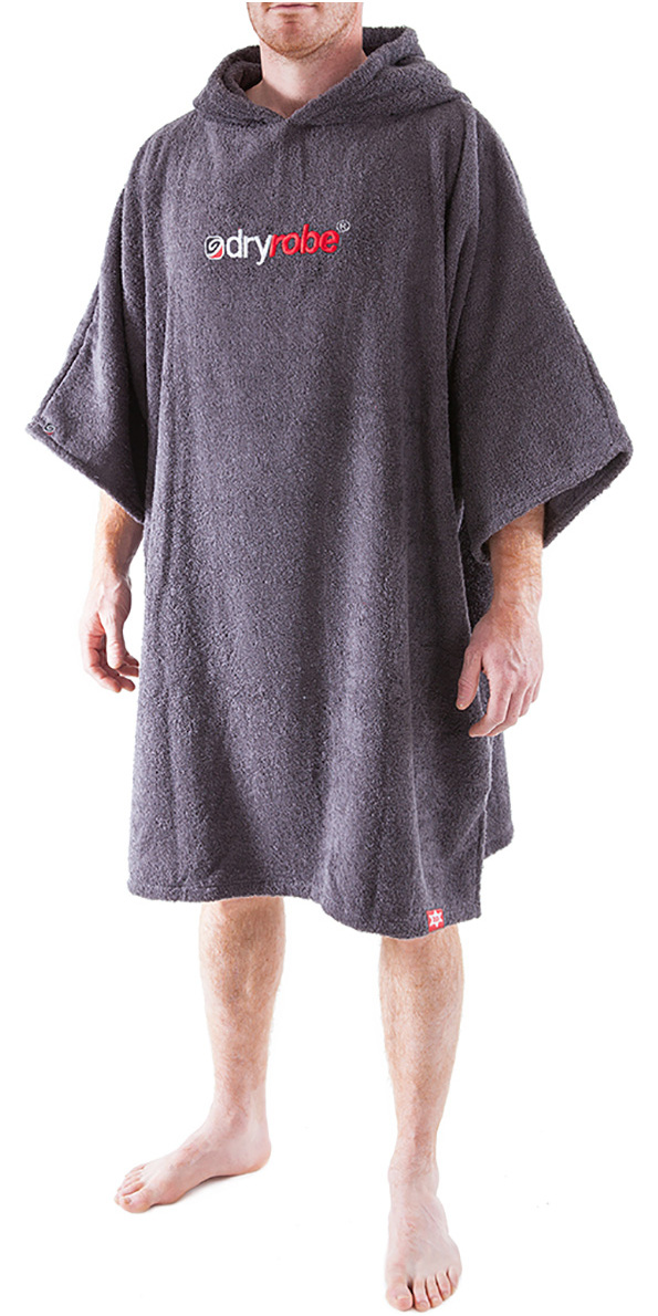 813b815426 2019 Dryrobe Short Sleeve Towel Change Robe Poncho - Large in Slate Grey - Change  Robes - Essentials