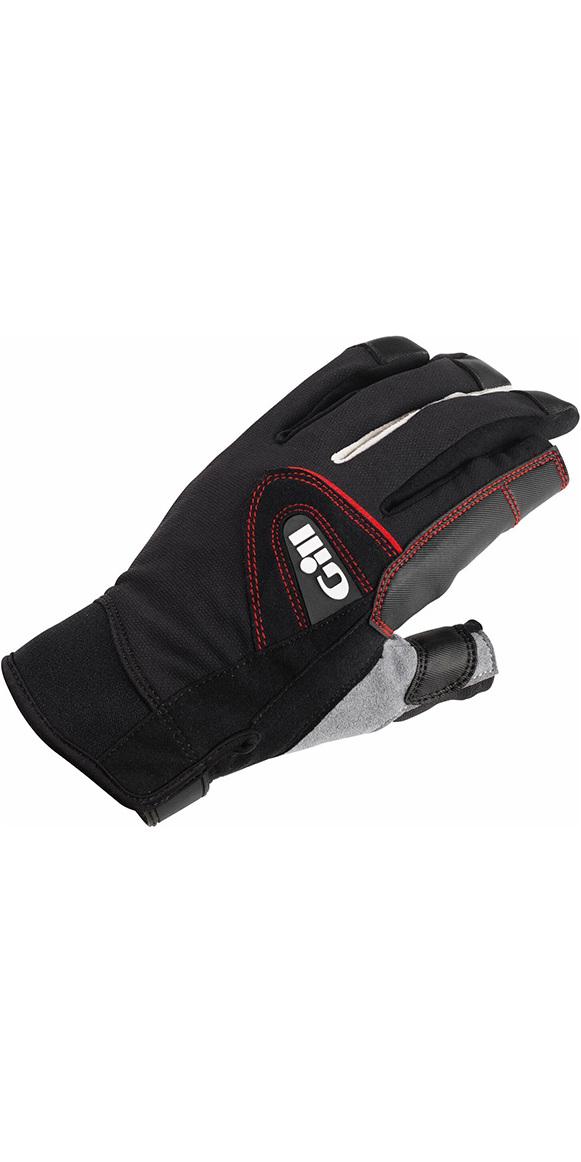 2018 Gill Championship Long Finger Sailing Gloves Black 7252