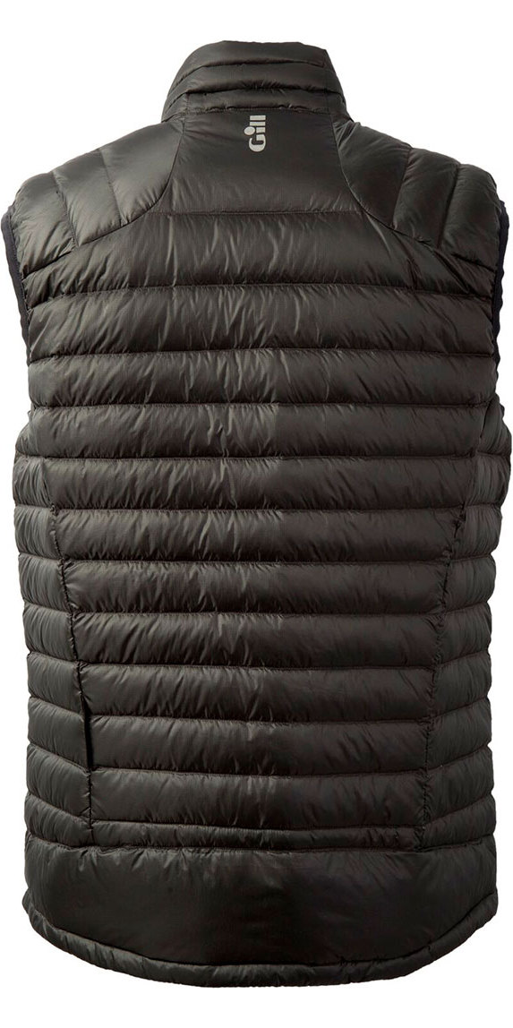 2018 Gill Hydrophobe Down Gilet Charcoal 1063