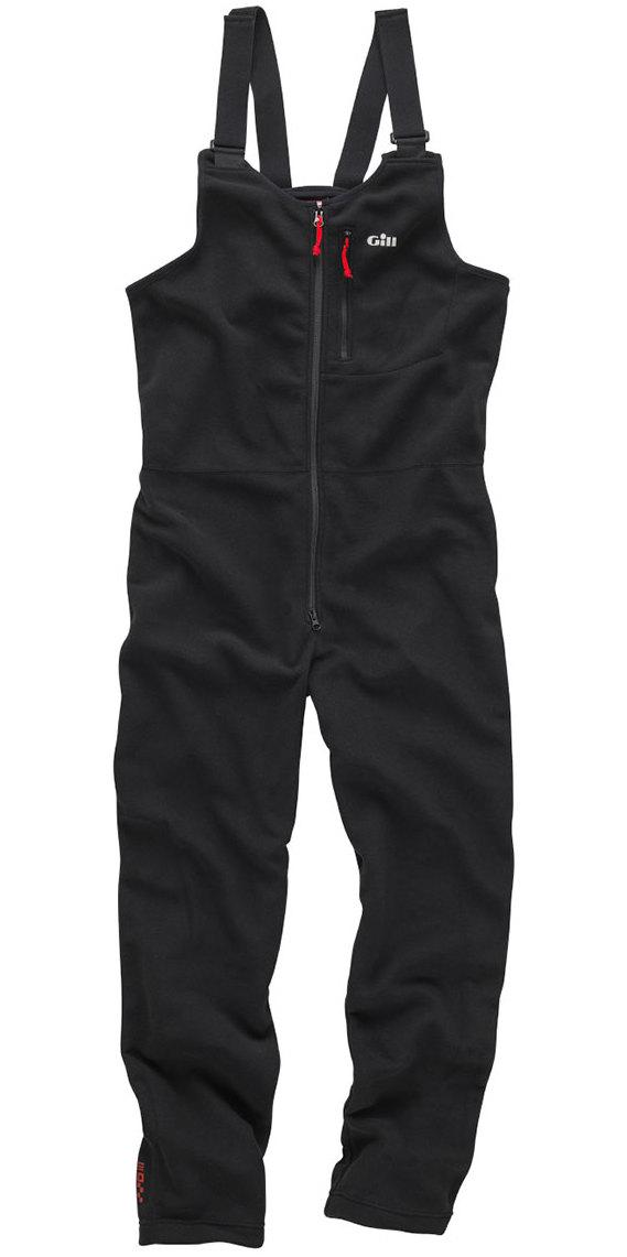 2019 Gill I4 Fleece Salopettes Black 1489