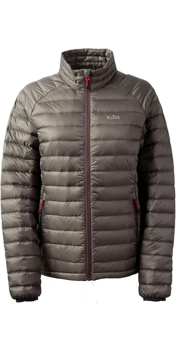 06fc2f23a Gill Womens Hydrophobe Down Jacket Pewter 1062W