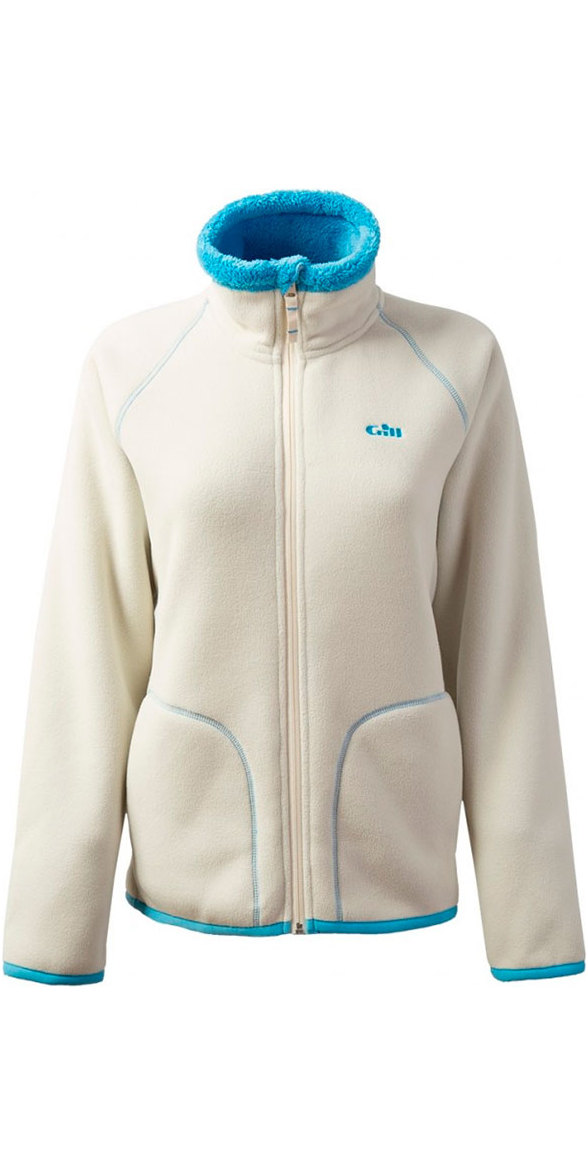 Gill Womens Polar Fleece Jacket Oatmeal 1702