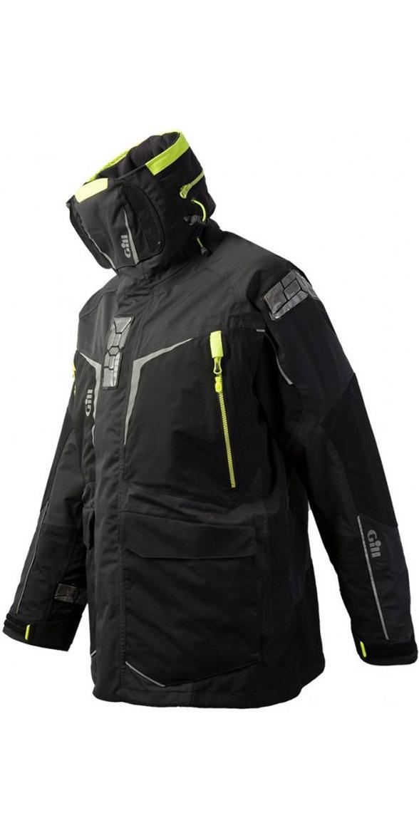 2020 Gill Mens OS1 Offshore Ocean Jacket Graphite OS12J