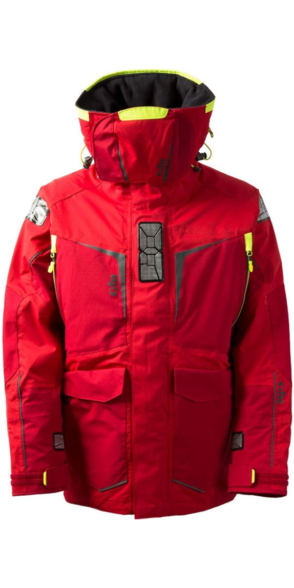 2019 Gill Mens OS1 Offshore Ocean Jacket in RED OS12J