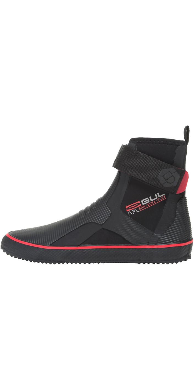 2019 Gul All Purpose Lace 5mm Boot BLACK / RED BO1304-B2