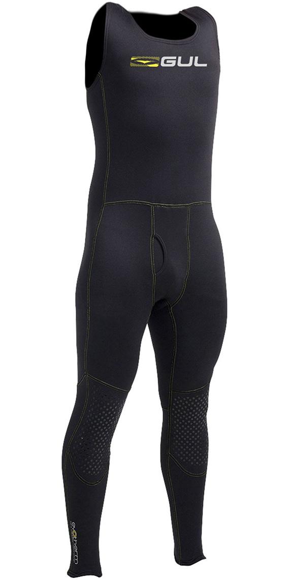 Gul Evotherm Flatlock Thermal Long John in Black AC0054-A9