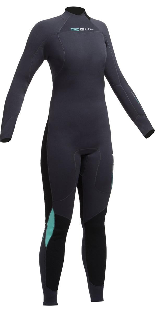 2017 Gul Ladies Code Zero 4/3mm Back Zip Wetsuit JET CZ1202-B2 - EX SAMPLE