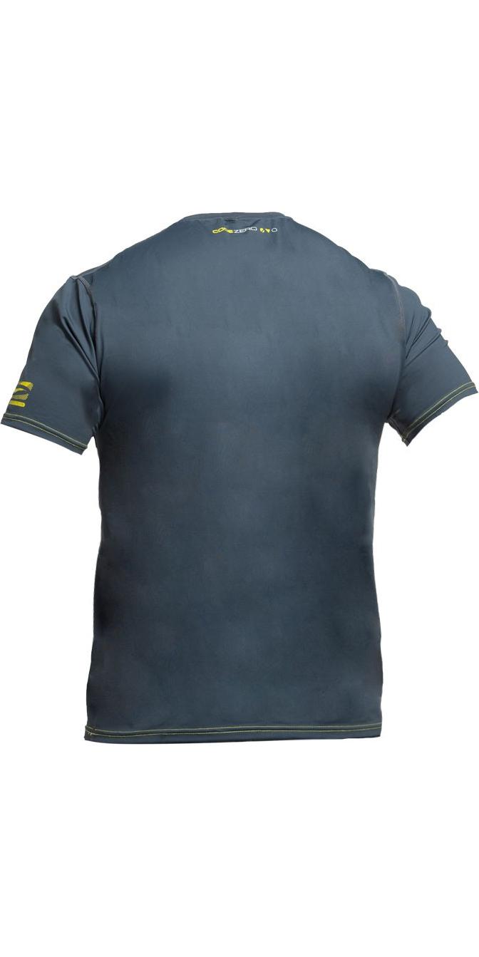 2019 Gul Tee Fit Short Sleeve Rash Vest ASH RG0366-B2