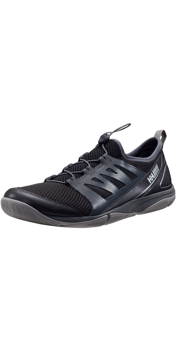 70d82b7a4c60 Helly Hansen Aquapace 2 Low Profile Shoe Jet Black 11145 - Sailing Shoes -  Sailing Boots Shoes