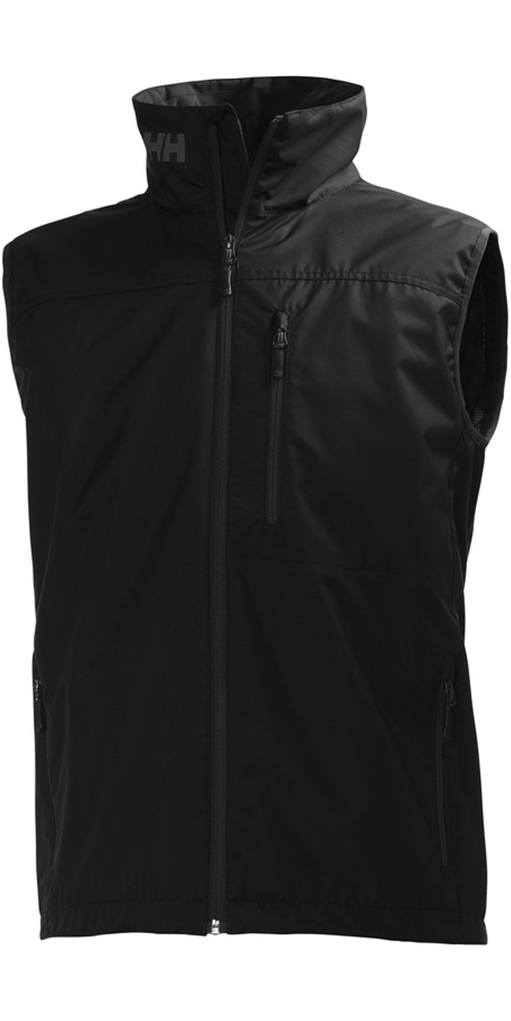 2018 Helly Hansen Crew Vest Black 30270