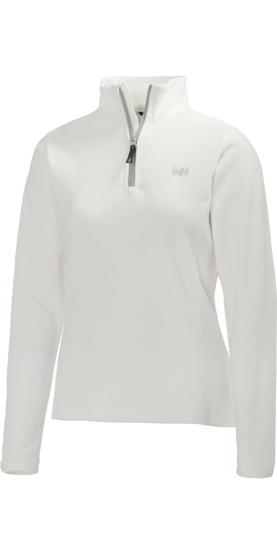ef6ac122e 2019 Helly Hansen Womens Daybreaker 1 2 Zip Fleece White Silver 50845 -  50845 - Fleeces - Shore Wear