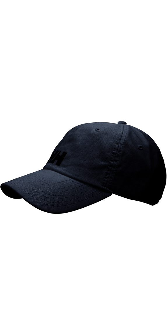2019 Helly Hansen Logo Cap Black 38791