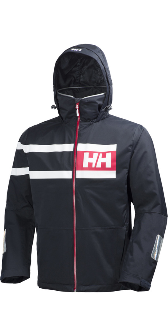 60b882df 2019 Helly Hansen Salt Power Jacket Navy 36278 - Jackets Coats - Mens -  Clothing - by Helly   Wetsuit Outlet