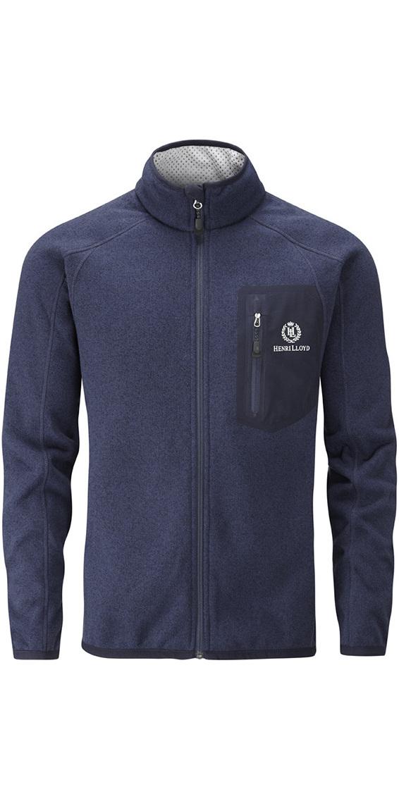 2017 Henri Lloyd Traverse Fleece Jacket Marine Y20110