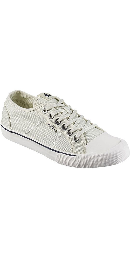 Musto 064-LO Canvas Deck Shoes Sail White FS0920