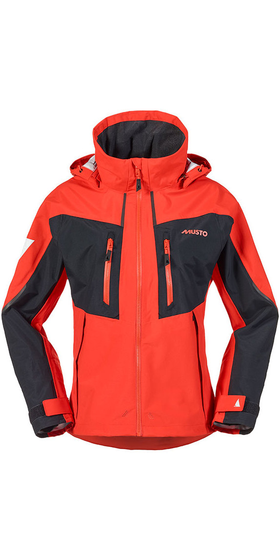 Musto BR2 Ladies Race Lite Jacket Fire Orange SB022W0