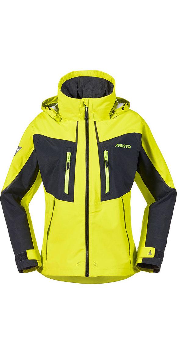 Yellow sailing jacket womens