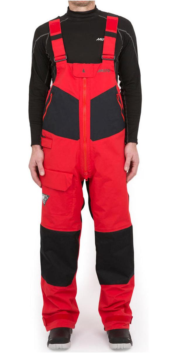 Musto BR2 Offshore Trouser TRUE RED / BLACK SB0042