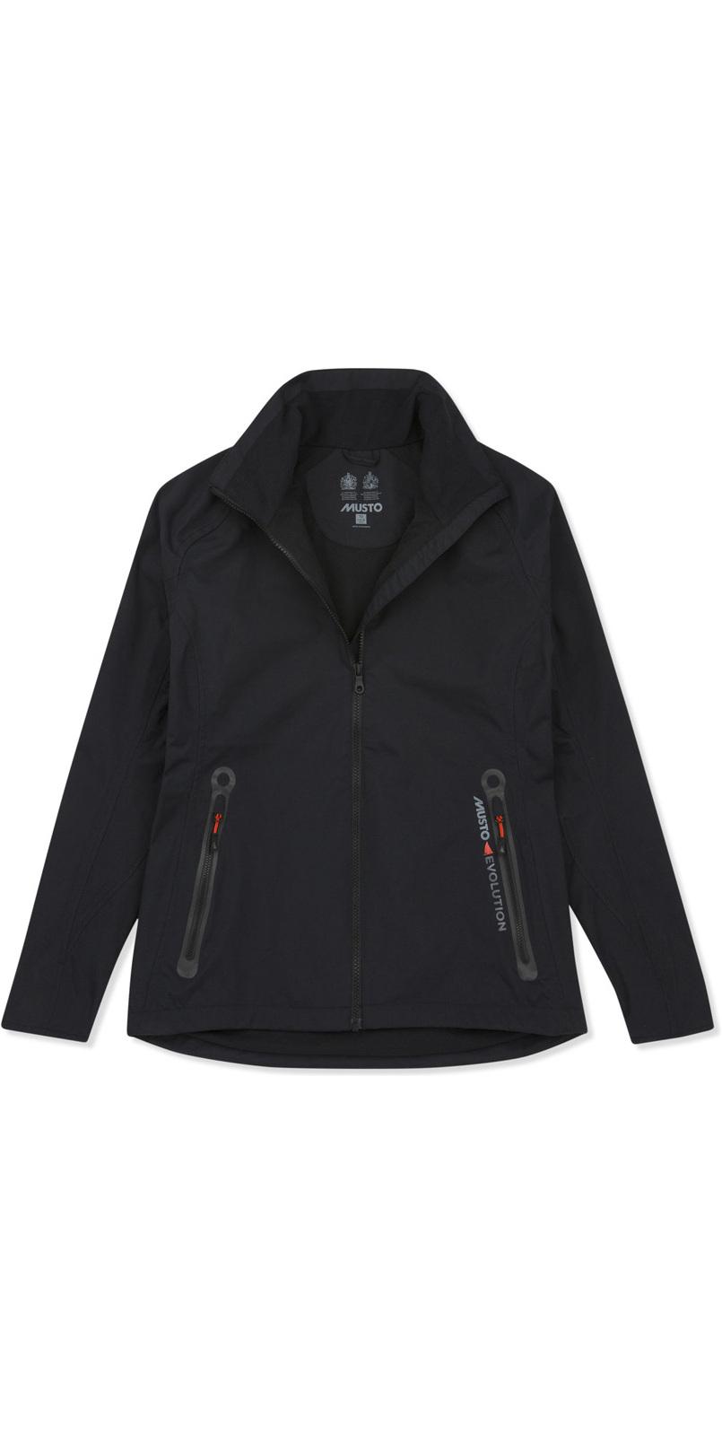 Musto Womens Essential Crew BR1 Jacket BLACK EWJK058 & Apexia Jacket TITANIUM Bundle Offer