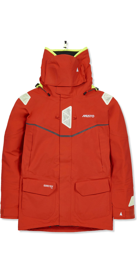 2017 Musto MPX Offshore Jacket Fire Orange SM1513