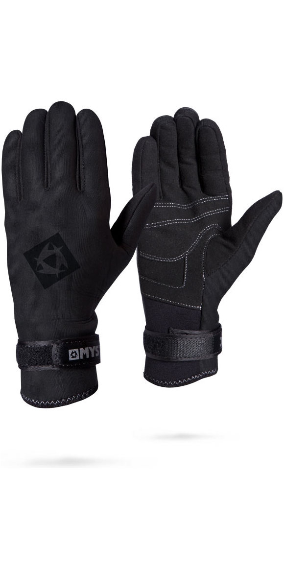 2019 Mystic 2mm Smooth Kitesurfing Glove 140190