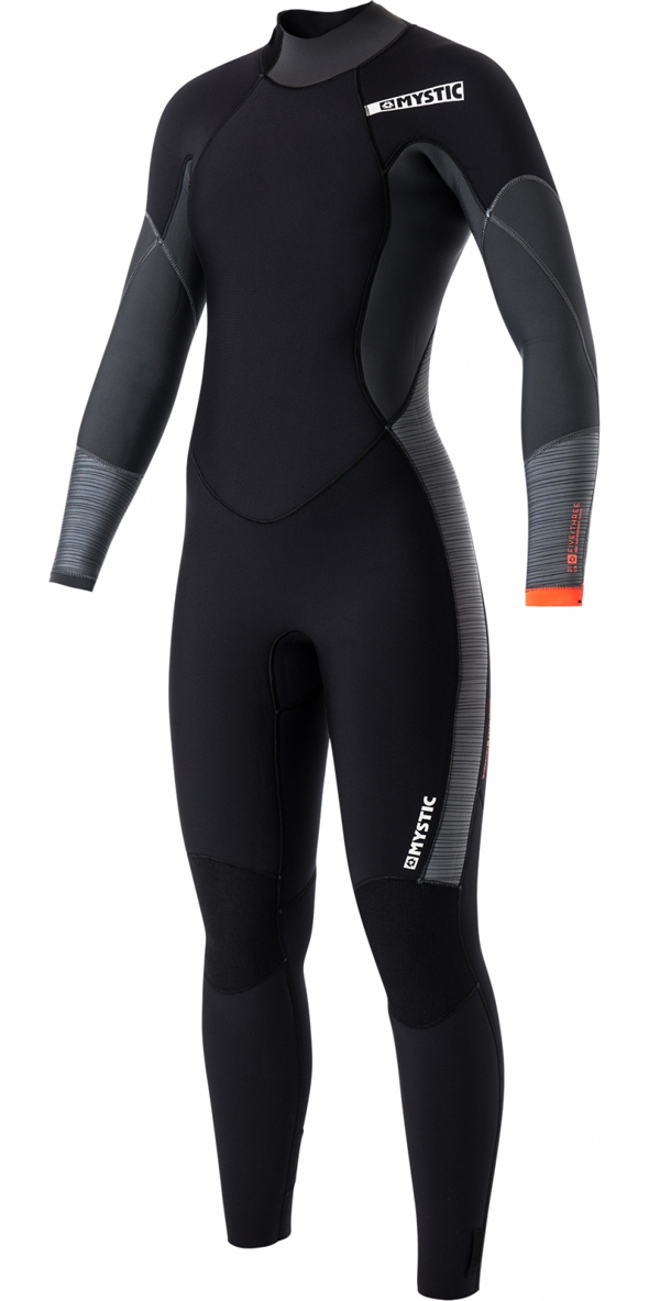 Mystic Diva Ladies 5/3mm Back Zip Wetsuit - BLACK 170065