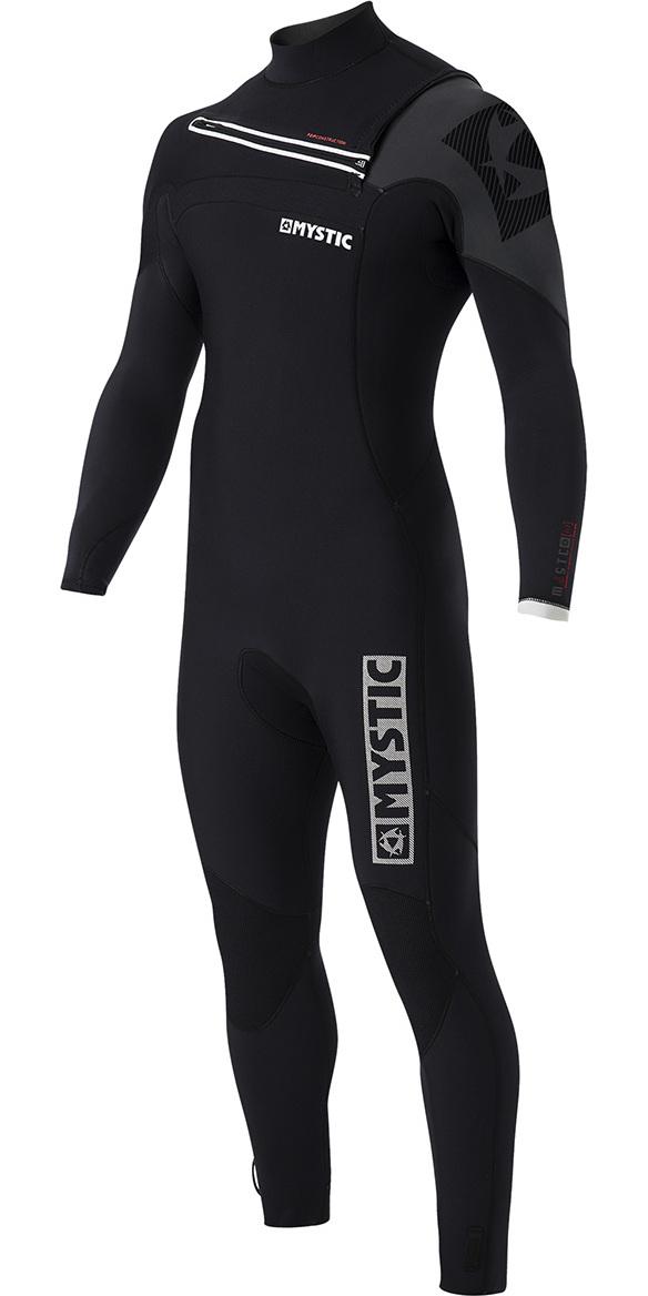 Mystic Majestic 5/3mm GBS Chest Zip Wetsuit - Black 170010