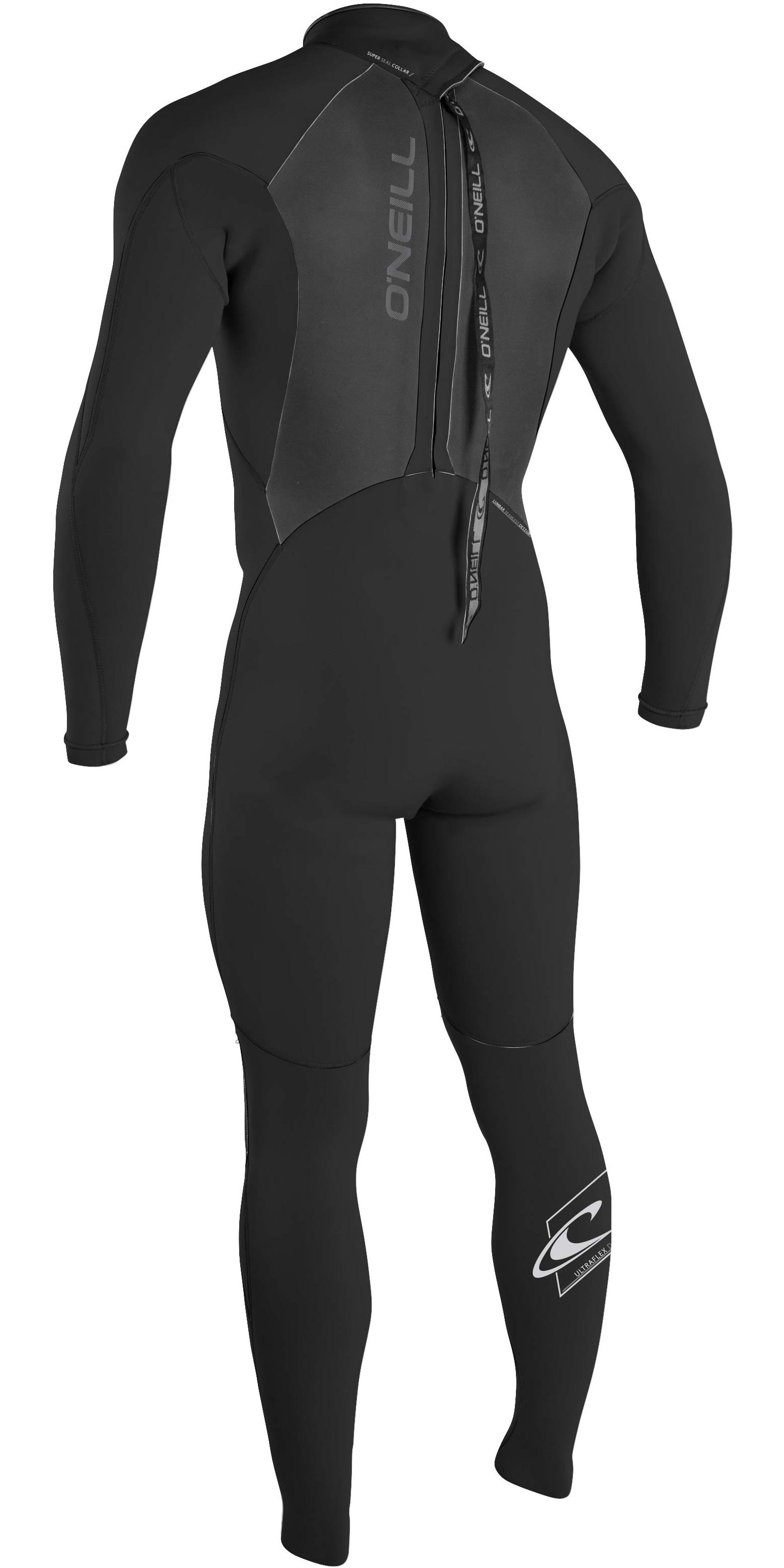 2019 Oneill Epic 5 4mm Back Zip Gbs Wetsuit Black 4217 - 4217 - Mens ... d5fb4438092