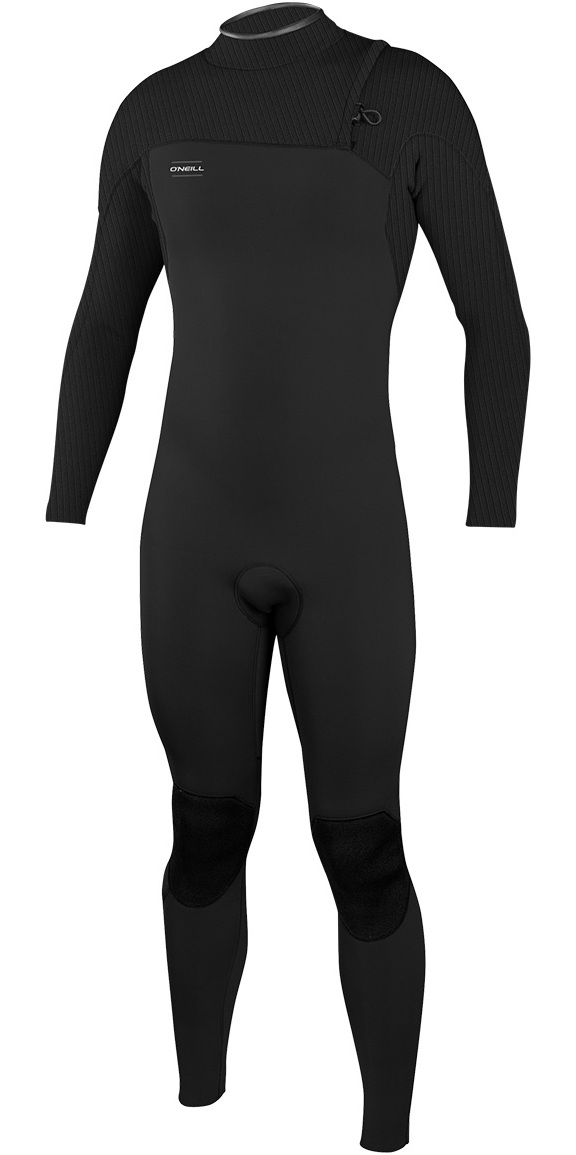 2019 O'Neill HyperFreak Comp 4/3mm Zipperless Wetsuit BLACK 4971