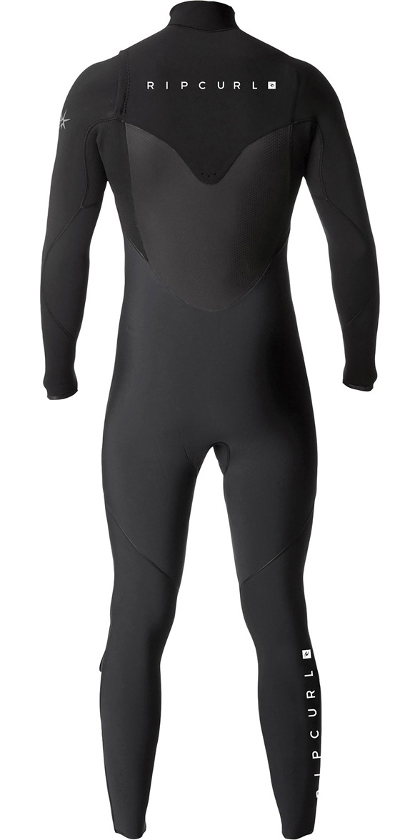 2019 Rip Curl Flashbomb 5/3mm Chest Zip Wetsuit BLACK WST7DF
