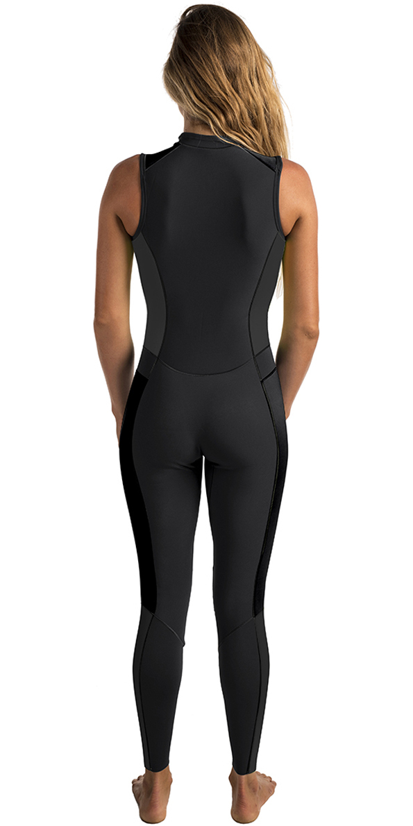 Rip Curl Womens G-Bomb 1.5mm Long Jane Wetsuit BLACK / WHITE WSM6AS
