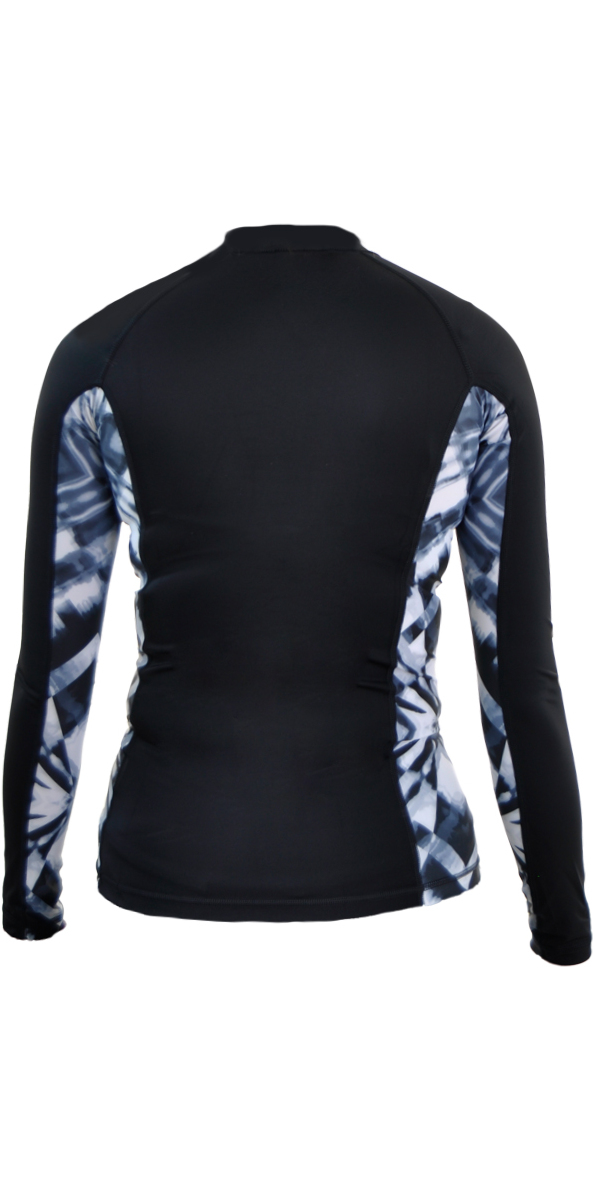 Rip Curl Womens All Over Long Sleeve Rash Vest TITANIUM WLE8KW